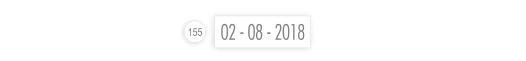 Datownik z samą datę, bez pieczątki.