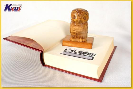 pieczątka okolicznościowa exlibris - ex libris