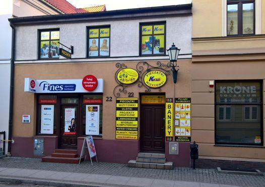 Siedziba firmy KIKUŚ Toruń.